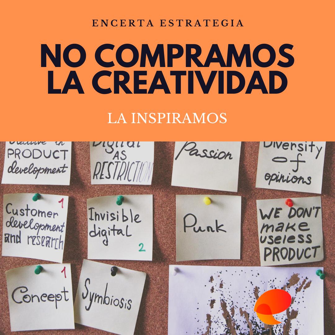 La creatividad no se compra