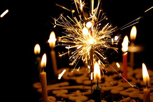 celebrar l'aniversari de l'empresa